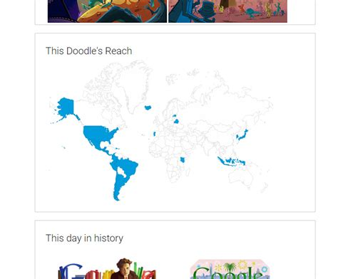 how to use favourite doodle this is where to see your favorite doodle again