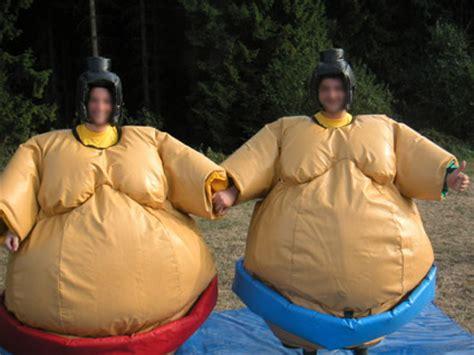 Location structure gonflable : animation de jeux gonflables sumo gonflable