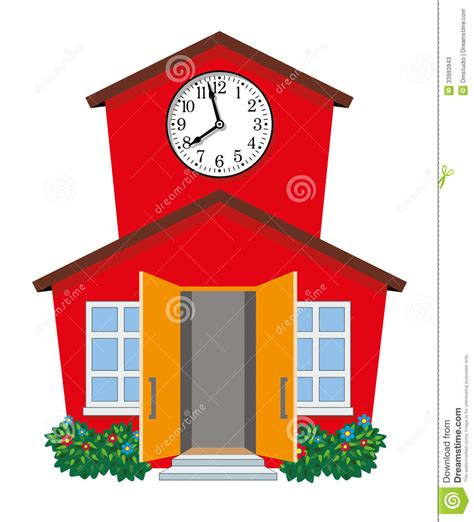 Small House Plans Free by Vector Country Building Stock Vector Image 33993943