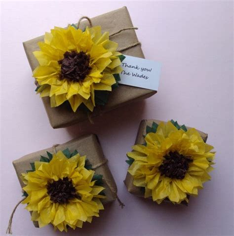 How To Make Sunflowers Out Of Paper - how to make sunflowers out of tissue paper 28 images