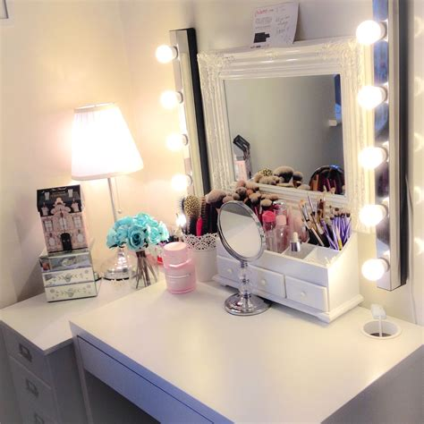 ikea micke desk drawer organizer makeup station micke desk by ikea room ideas