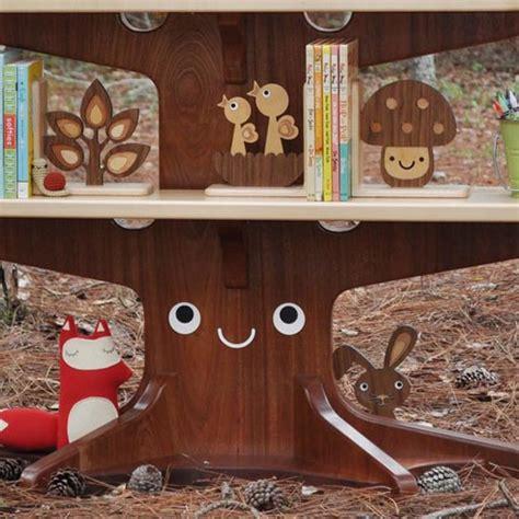 bookshelf that looks like a tree