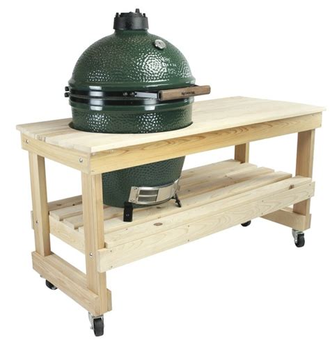 green egg tables big green egg cypress table for large egg