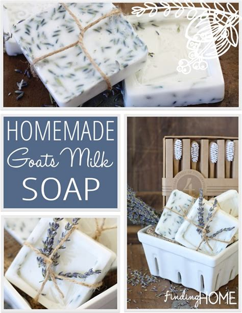 Handmade Goat Milk Soap Recipe - how to make goats milk soap recipe finding