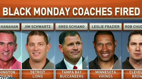 Black Monday Mba by Black Monday Hits Nfl Coaches Cnn