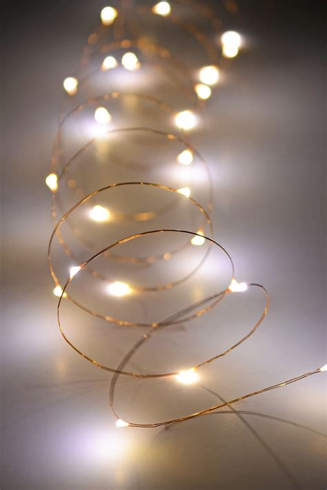 battery powered white string lights copper wire fairy lights 10 ft outdoor battery operated