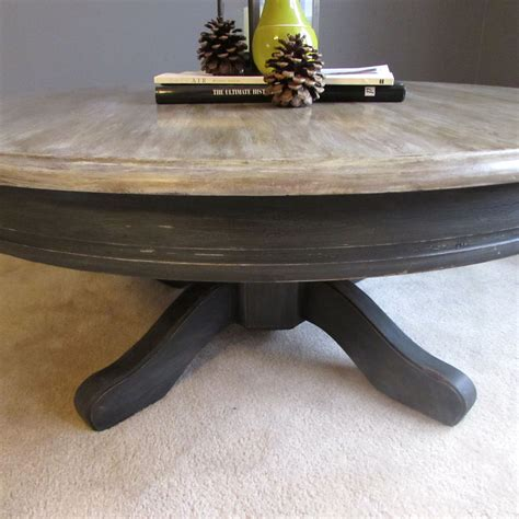 Trapper Coffee Table restoration hardware inspired coffee table top paint in a