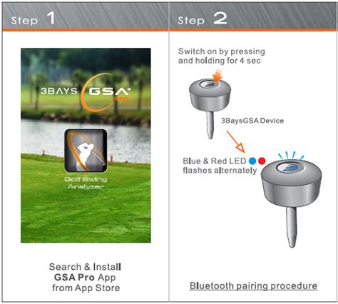 gsa pro golf swing analyzer product display 3bays gsa pro golf swing analyzer at