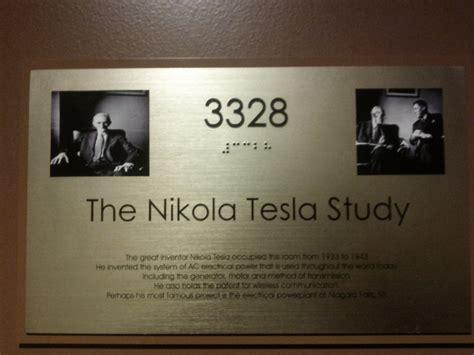 Where Did Nikola Tesla Study File New Yorker Hotel Nikola Tesla Study Door 3328