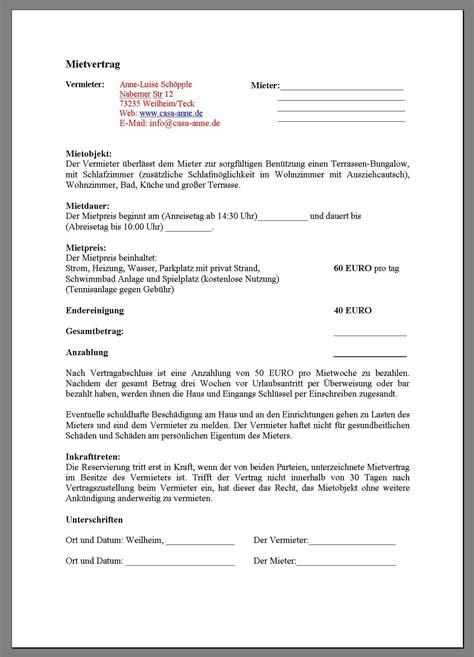 Vorlage K Ndigung Mietvertrag Zwei Mieter k 252 ndigung mietvertrag vorlage vermieter
