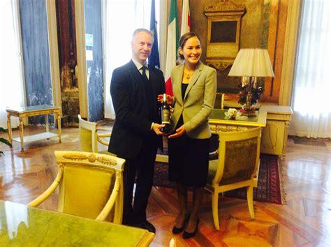 consolato montenegro a palazzo tursi la visita console generale di panama