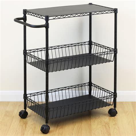kitchen utility shelves multi purpose rolling trolley cart kitchen utility craft