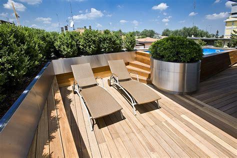 terrazzi attrezzati giardini