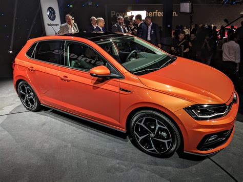 volkswagen polo 2017 2017 vw polo gti r line exterior live image indian autos