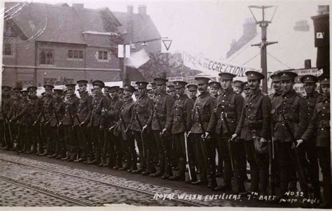 Existence 1 3 Tamat 7th battalion the royal fusiliers the great war army
