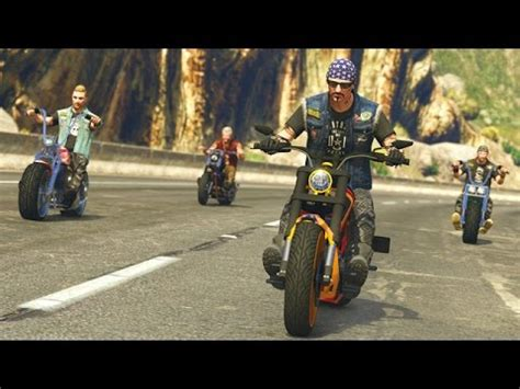 Gta 5 Online Motorrad Crew by Gta 5 Online Biker Gangs New Bikers Dlc Gameplay Gta