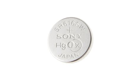 Sale Button Cell 321 Sr616sw 1 24 authentic sony sr616sw 321 1 55v button cell battery
