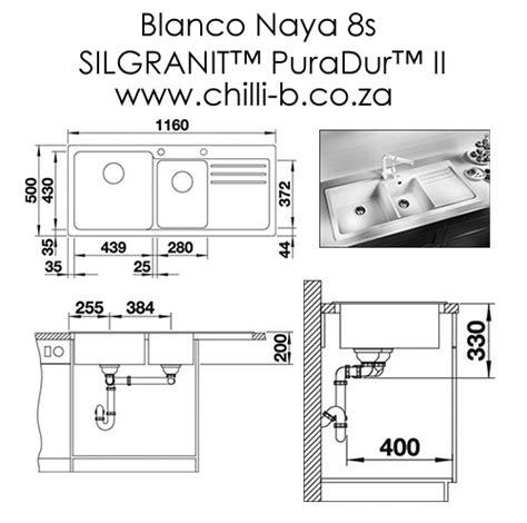 Blanco Naya 8 S White Kitchen Sink gorgeous blanco quot silgranit quot granite inset sinks to of