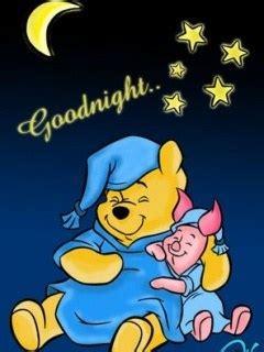 cartoon wallpaper good night download sleep pooh mobile wallpaper mobile toones