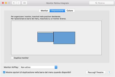 Macbook Di Usa uso di pi 249 display con il mac supporto apple