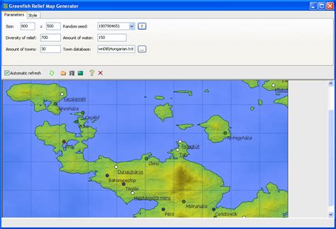 map generator greenfish software official greenfish relief map