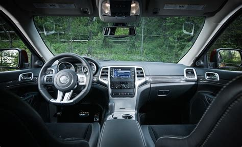 jeep grand cherokee interior 2012 car and driver