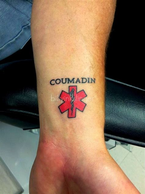 medic alert tattoo 43 best images about medic alert ideas on