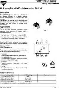 tcdtg datasheet optocoupler phototransistor output