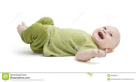 laying on back happy toddler laying on back stock photo image 39069542