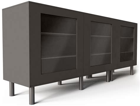 besta storage combination cad and bim object besta storage combination with doors black ikea