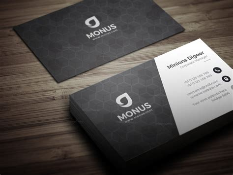 cube business card template black cubes modern business card design template 001592