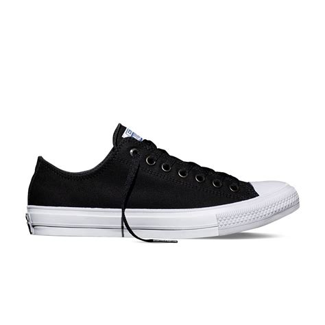 Converse Chuck Teylor Black Chuck All Ii Ox In Black Converse Black 150149c