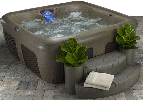 ez bid blemished six person spa tub clearwater pool spa