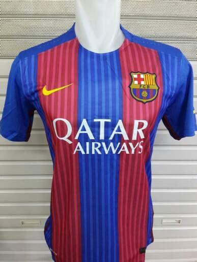 Jersey Grade Ori Barca Home New 2016 2017 Official Murah jersey barcelona home 2016 2017 terbaru jual jersey