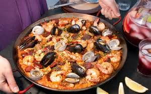 paella mixta paella with seafood and meat recipe chowhound