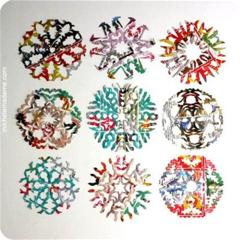 How To Make Pretty Paper Snowflakes - pretty paper snowflakes family crafts