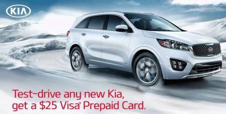 Free 25 Visa Gift Card - free 25 visa gift card test drive a kia