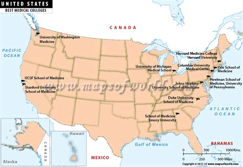 usa map with states and universities best colleges