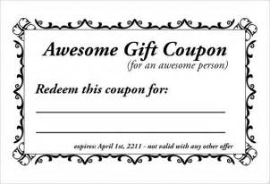 Free Template For Coupons by 13 Coupon Templates Free Sle Exle