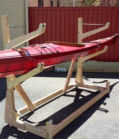 how to build a boat storage rack canoe and kayak storage options quot do it yourself quot and