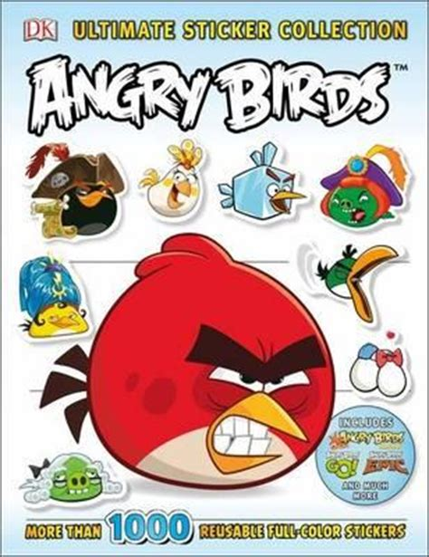 Angry Birds Sticker Book ultimate sticker collection angry birds dk 9781465427977