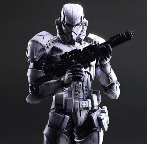 Ad4264 Figure Play Arts No 3 Stormtrooper Wars Kode Gute4130 wars figure play arts imperial stormtrooper collection model play arts