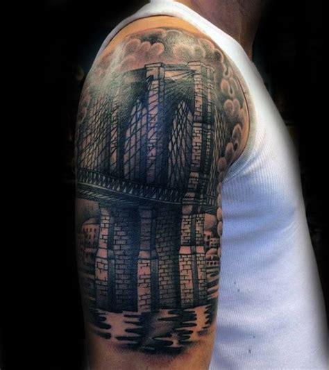 brooklyn tattoos designs 60 bridge tattoos for new york city design