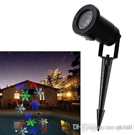 snowflake projector outdoor outdoor laser lights snowflake projector light waterproof ip64 rgb color snow