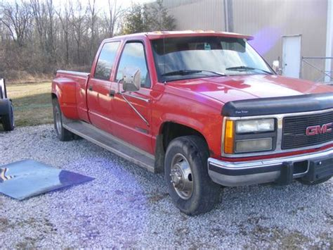 where to buy car manuals 1993 gmc 3500 club coupe parking system sell used 1993 gmc 3500 crew cab one ton in lyons ohio united states for us 2 000 00