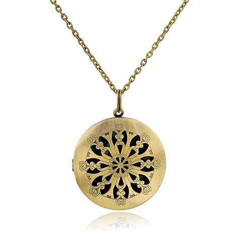 Aromatherapy Locket Necklace essential diffuser necklace perfume locket necklace