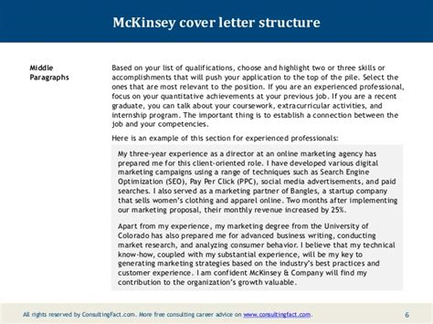 Retail Consultant Cover Letter by Cover Letter Content Strategist 28 Images Strategy Consulting Cover Letter Ideas Consultant