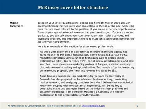 mckinsey cover letter sample - Mckinsey Cover Letter