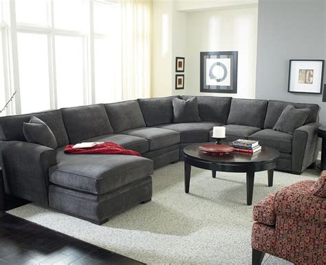 grey sectional couch quot artemis quot sectional by jonathan louis choose your