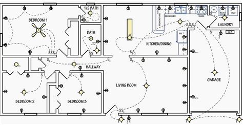 electrical floor plan drawing electrical symbols are used on home electrical wiring
